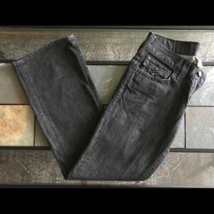 True Religion Billy Denim Jeans Boot Cut Leather